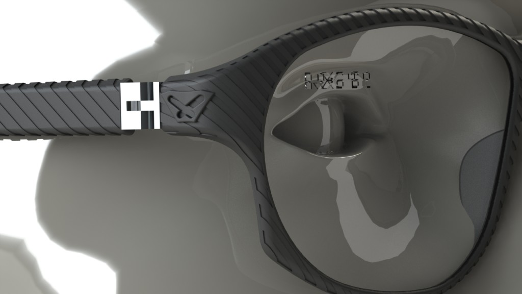 3D printed eye wear